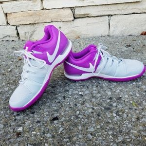 Nike | Purple/White Zoom Vapor 9.5 Tour Sneakers